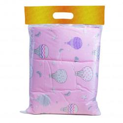 Спално бельо за бебе Pink Balloons ранфорс