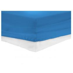 Чаршаф с ластик синьо ТРИКО