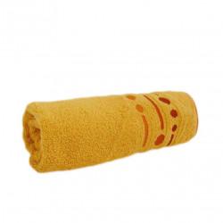 Средна хавлиена кърпа Emma Жълто