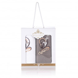 2бр. вафлени кърпи в кутия Coffee