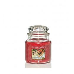 Ароматна свещ Sparkling cinnamon средна