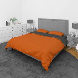 Дизайнерско спално бельо Оранжево и Сиво
