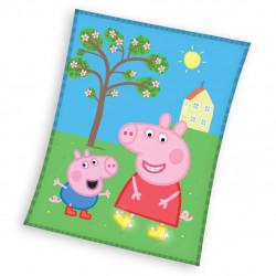 Детско одеяло Peppa Pig 110/140