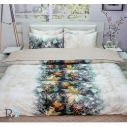 Луксозно спално бельо памучен сатен Astrea Galactic