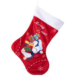 Коледен чорап Пингвинче за елха