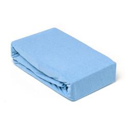 Чаршаф с ластик от памук Blue