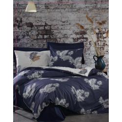 Спално бельо с олекотена завивка Ранфорс Berta