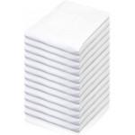 12бр бял долен чаршаф ранфорс