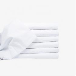 6бр. ПРОМО пакет бели чаршафи