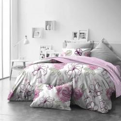 Единично спално бельо Purple Dreams