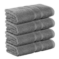 4бр. ПАКЕТ хавлиени кърпи 50/90 сиво