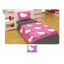100% Памук детско спално бельо Kitty