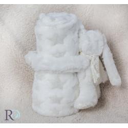 Бебешко одеяло с подарък Rorry  Beige