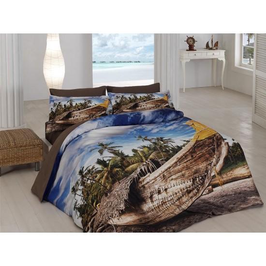 3D Спално бельо Памучен сатен - ЕЛСА от StyleZone