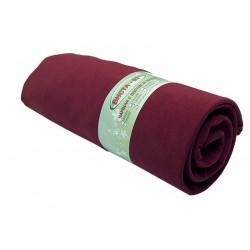 Чаршаф с ластик 100% Памук - бордо от StyleZone