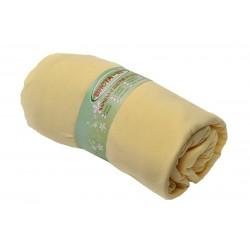 Чаршаф с ластик 100% Памук - жълт от StyleZone