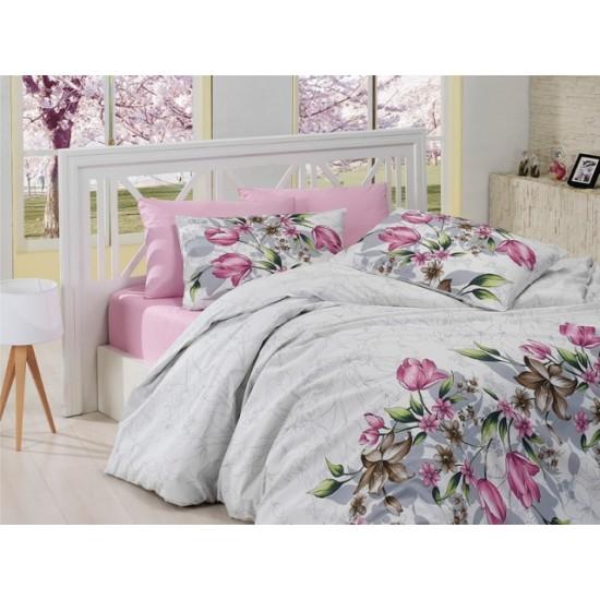 Лимитирана колекция спално бельо от 100% памук - Риела Пембе от StyleZone