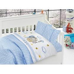 Бебешко спално бельо - Kitty Blue от StyleZone