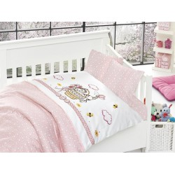 Бебешко спално бельо - Kitty Pembe от StyleZone
