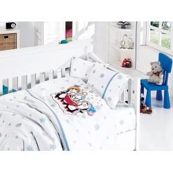 Бебешко спално бельо - Pеnguins Blue от StyleZone