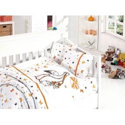 Бебешко спално бельо - Stork Orange от StyleZone