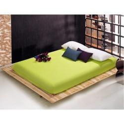 Чаршаф с ластик Ранфорс - Зелен от StyleZone