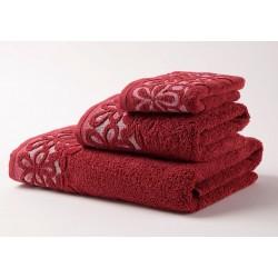 Хавлиени кърпи Микропамук Данте - Бордо от StyleZone