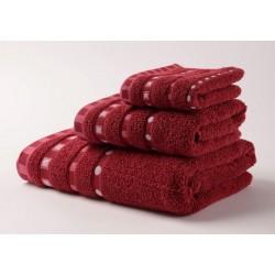 Хавлиени кърпи Микропамук Мишел - Бордо от StyleZone