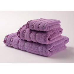 Хавлиени кърпи Микропамук Мишел - Лилави от StyleZone