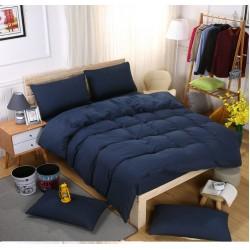 Едноцветно спално бельо със завивка -  ЧЕРНО от StyleZone