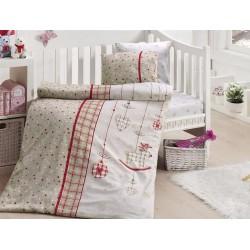 Бебешко спално бельо - Palmi Kirmizi от StyleZone