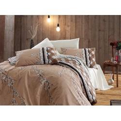 Лимитирана серия спално бельо от 100% памук - Gina Krem от StyleZone