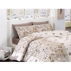 Лимитирана серия спално бельо от 100% памук - Ivy Kahve от StyleZone