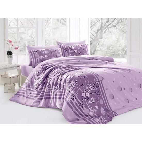 Лимитирана колекция спално бельо от 100% памук - Ivy Lila от StyleZone