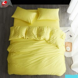 Едноцветно спално бельо от 100% памук ранфорс - СВЕТЛОЖЪЛТО от StyleZone