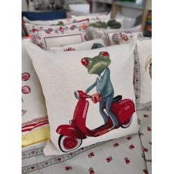 Испанска декоративна възглавница с цип - ЖАБА от StyleZone