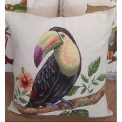 Испанска декоративна възглавница с цип - ПАПАГАЛ от StyleZone