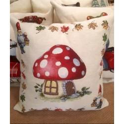 Испанска декоративна възглавница с цип - ГЪБКА от StyleZone