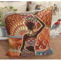 Испанска декоративна калъфка за възглавница с цип - РАЯ от StyleZone