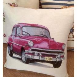 Испанска декоративна възглавница с цип - РОЗОВА КОЛА от StyleZone