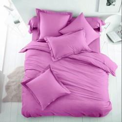 Едноцветно спално бельо от 100% памук ранфорс - СВЕТЛОЛИЛАВО от StyleZone