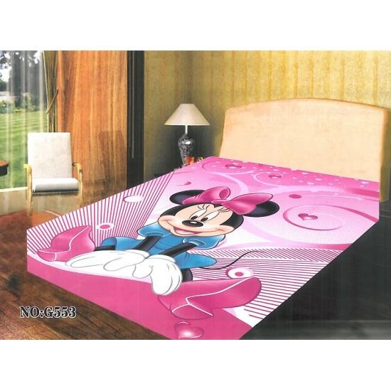 Детско зимно одеяло в розово - МИНИ МАУС от StyleZone