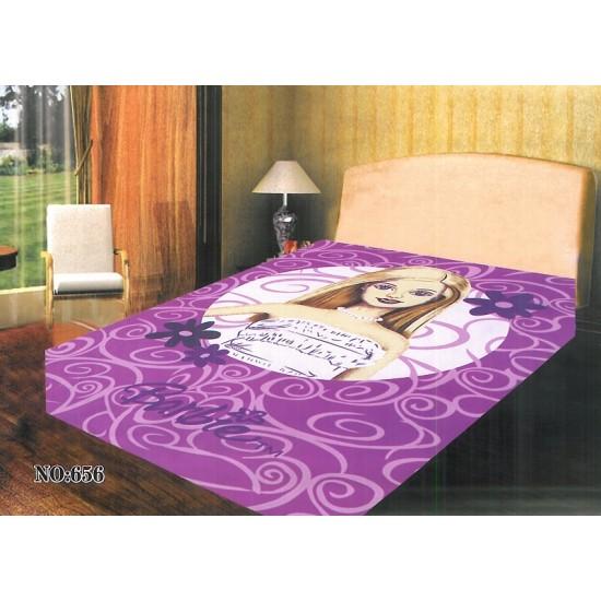 Детско зимно одеяло в лилаво - БАРБИ СТЕЙСИ от StyleZone