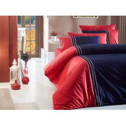 Луксозно спално бельо от 100% памук - CRAZE LACIVERT от StyleZone