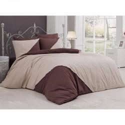 Луксозно спално бельо от висококачествен 100% памук - JENNA EKRU от StyleZone