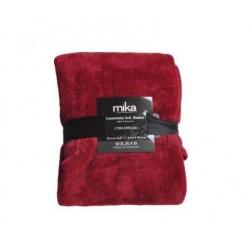 Едноцветно одеяло  - ASPI13108 Burgundy от StyleZone
