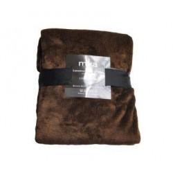 Едноцветно одеяло - ASPI13108 Brown от StyleZone