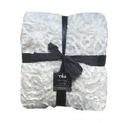 Луксозно одеяло - 11T004 White от StyleZone