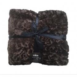 Луксозно одеяло - 11T004 Brown от StyleZone