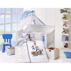 Бебешко спално бельо с одеяло - Sailors  от StyleZone